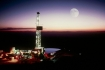 Moonlit Oil Rig/ Atlantic Richfield
